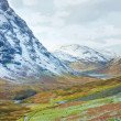 Stock Photo: Scottish Highlands Scenic at Buachaille Etive Mor, Glencoe, Scot