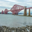 Stock Photo: Forth Railway Bridge near Edinburgh, Scotland