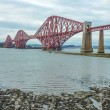 Stock Photo: The Forth Railway Bridge near Edinburgh, Scotland