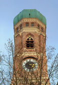 Munich, Frauenkirche, Cathedral of Our Dear Lady, Bavaria, Germa — Stock Photo