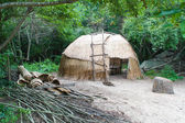 Native American wigwam hut — Stock Photo