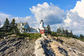 Pemaquid Point Lighthouse, Maine, USA — Stockfoto