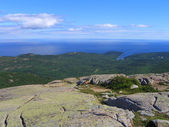 Acadia National Park Panorama of Frenchman Bay, Maine, USA — Stock Photo