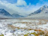 Scottish Highlands Scenic at Buachaille Etive Mor, Glencoe, Scot — Stock Photo