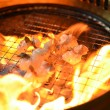 Korean Barbecue&amp;quot;Yakiniku&amp;quot; - Lizenzfreies Foto