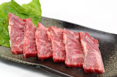 Yakiniku, Japanese beef — Stock Photo