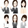 Businesswoman - Stock Vector