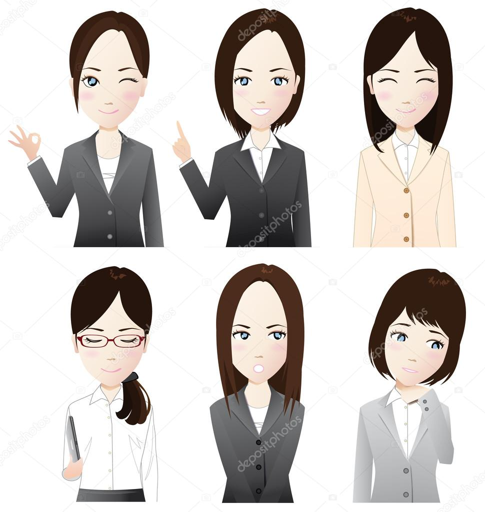 This is a picture of  businesswomans. — Stock Vector #13572659