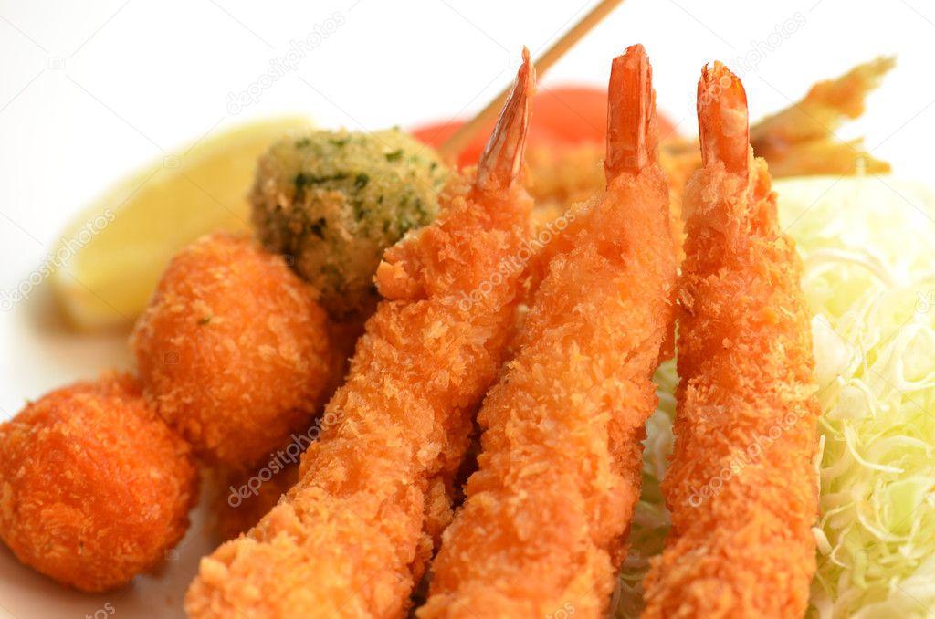 Fried Shrimp Japanese Japanese Fried Shrimp