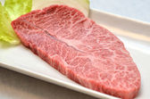 Japanese meat called Misuji — Stock Photo