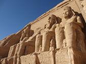 Ramses II in Abu Simbel — Stock Photo