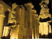 Luxor by night — Stock Photo