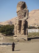 Memnon's colossus — Stock Photo