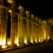 Luxor by night — Stock Photo
