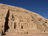 Ramses II at Abu Simbel — Stock Photo