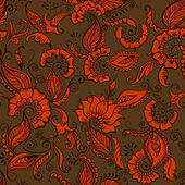 Vector Indian Pattern — Vettoriale Stock