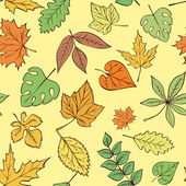 Vector Leaves pattern — Stock Vector