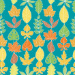 Stock Vector: Autumn Pattern