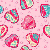Vector background Valentines day — Vetorial Stock