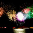 """Rhein in Flammen"" - fireworks event at the river rhine, Germany - Stock Photo"