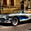 Corvette Chevrolet Oldtimer - Stock Photo