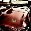 Stock Photo: Corvette Sting Ray