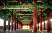 Korean architectural art — Stock Photo