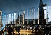 центральный вокзал собора — Стоковое фото