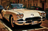 Corvette Chevrolet Oldtimer — Stock Photo
