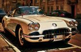 Corvette Chevrolet Oldtimer — Stock Photo