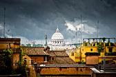 Rzym, czarny — Zdjęcie stockowe