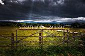 Ferrovia strathspey — Foto Stock