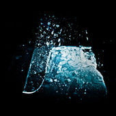 Cutting the ice — Stock Photo