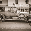 Oldtimer in Oban — Stock Photo