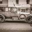 Oldtimer in Oban - Stock Photo