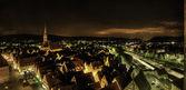 Uitzicht over de stad — Stockfoto