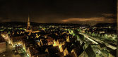 Widok na miasto — Zdjęcie stockowe