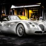 Wiesmann roadster car — Stock Photo #45083755