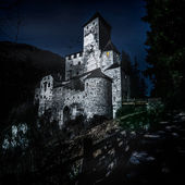 Castle in South Tyrol — Stock Photo