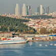 The Golden Horn Seen from Fatih, Istanbul — Stock Photo
