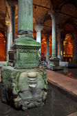 Inside The Basilica Cistern — Stock Photo
