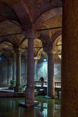 The Basilica Cistern — Stock Photo