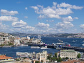 Golden Horn & Bosphorous — Stock Photo