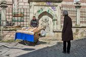 Street cart — Stock Photo
