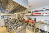 Hotel Kitchen — Stock Photo