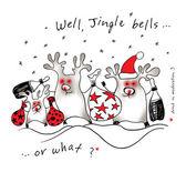 Christmas Deers — Stock Photo