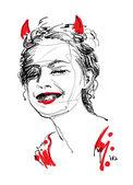 Devil's Smile — Stock Photo