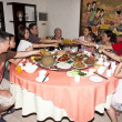 Stock Photo: Oriental family Dinner