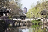 China suzhou zhuozheng garden — Stock Photo