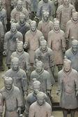 中国西安兵马俑 — 图库照片